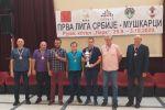 Серебро на Чемпионате Сербии